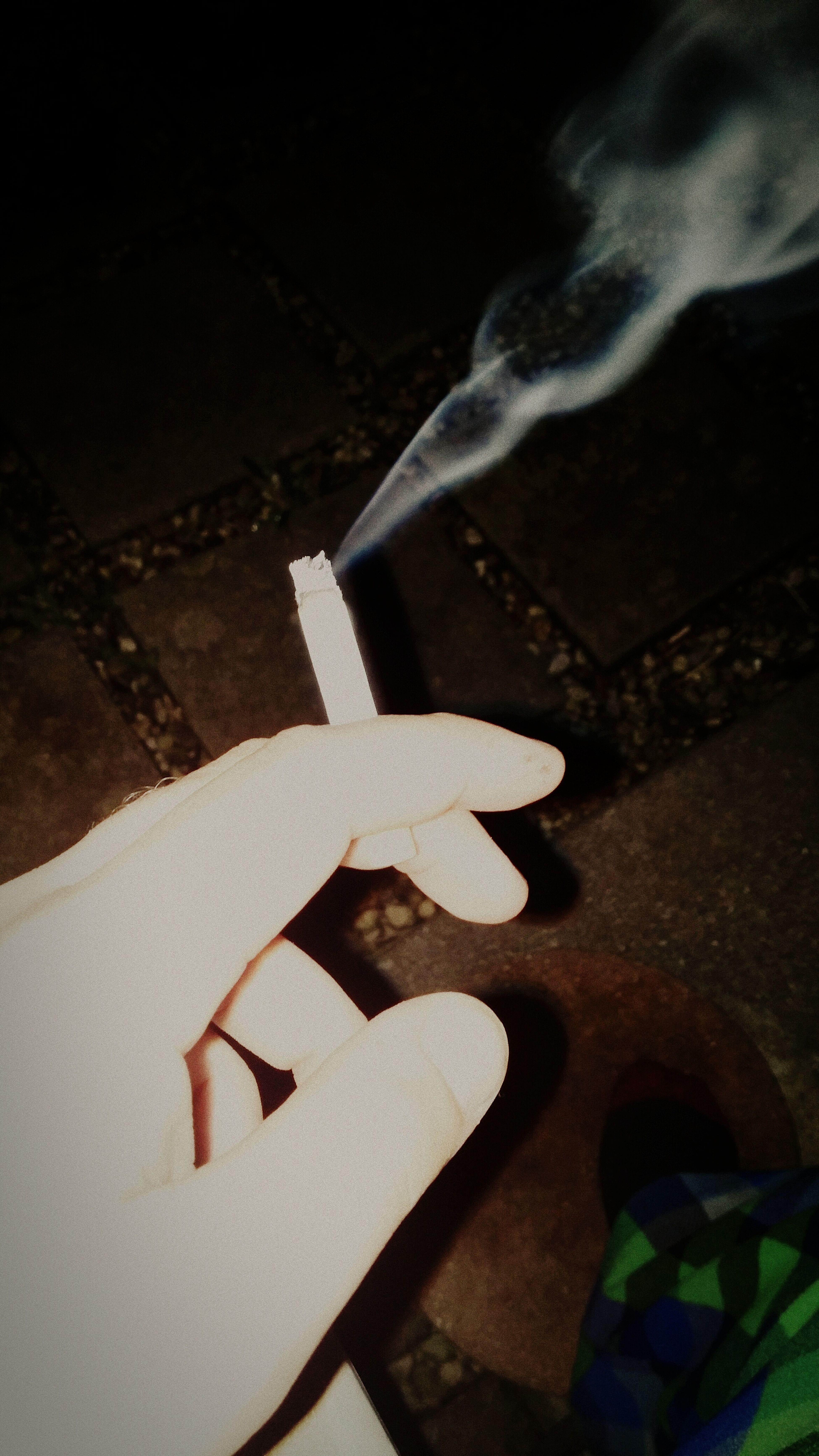 Late night smokes bring peace
