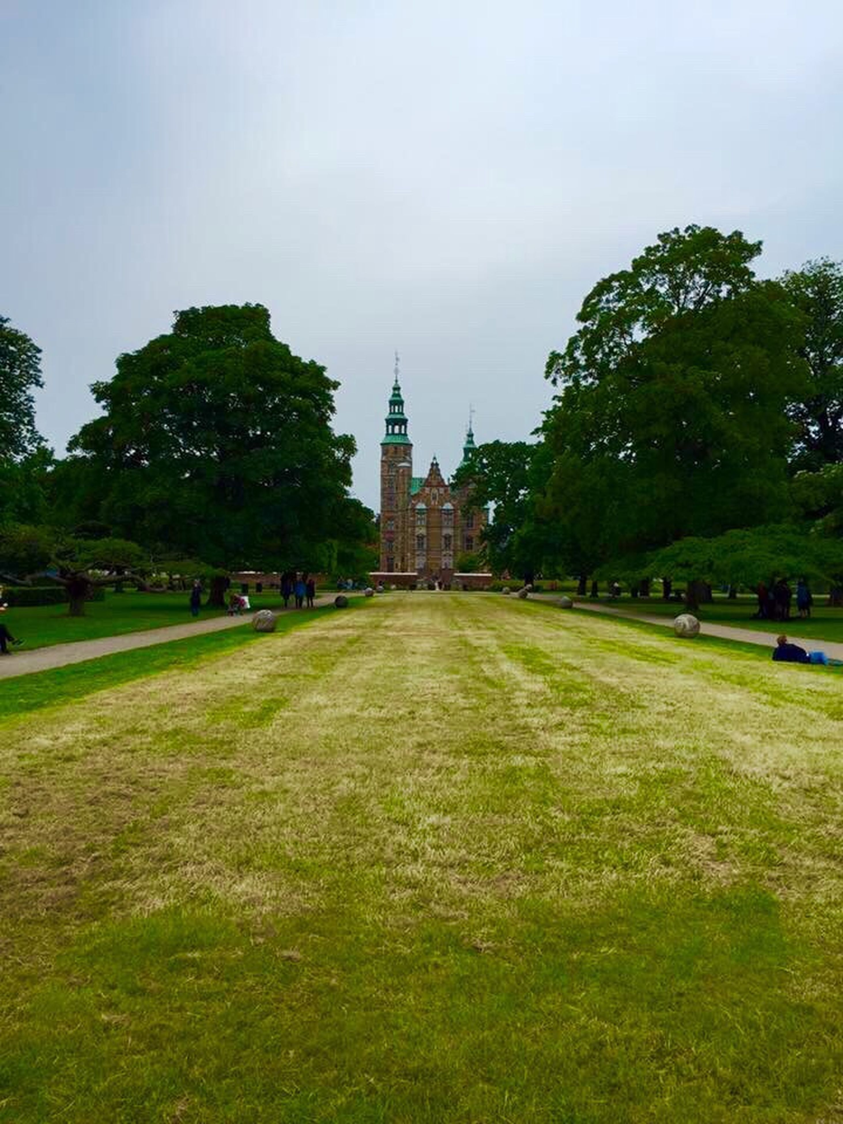 park - man made space, tree, green color, grass, no people, outdoors, vacations, city, sky, day