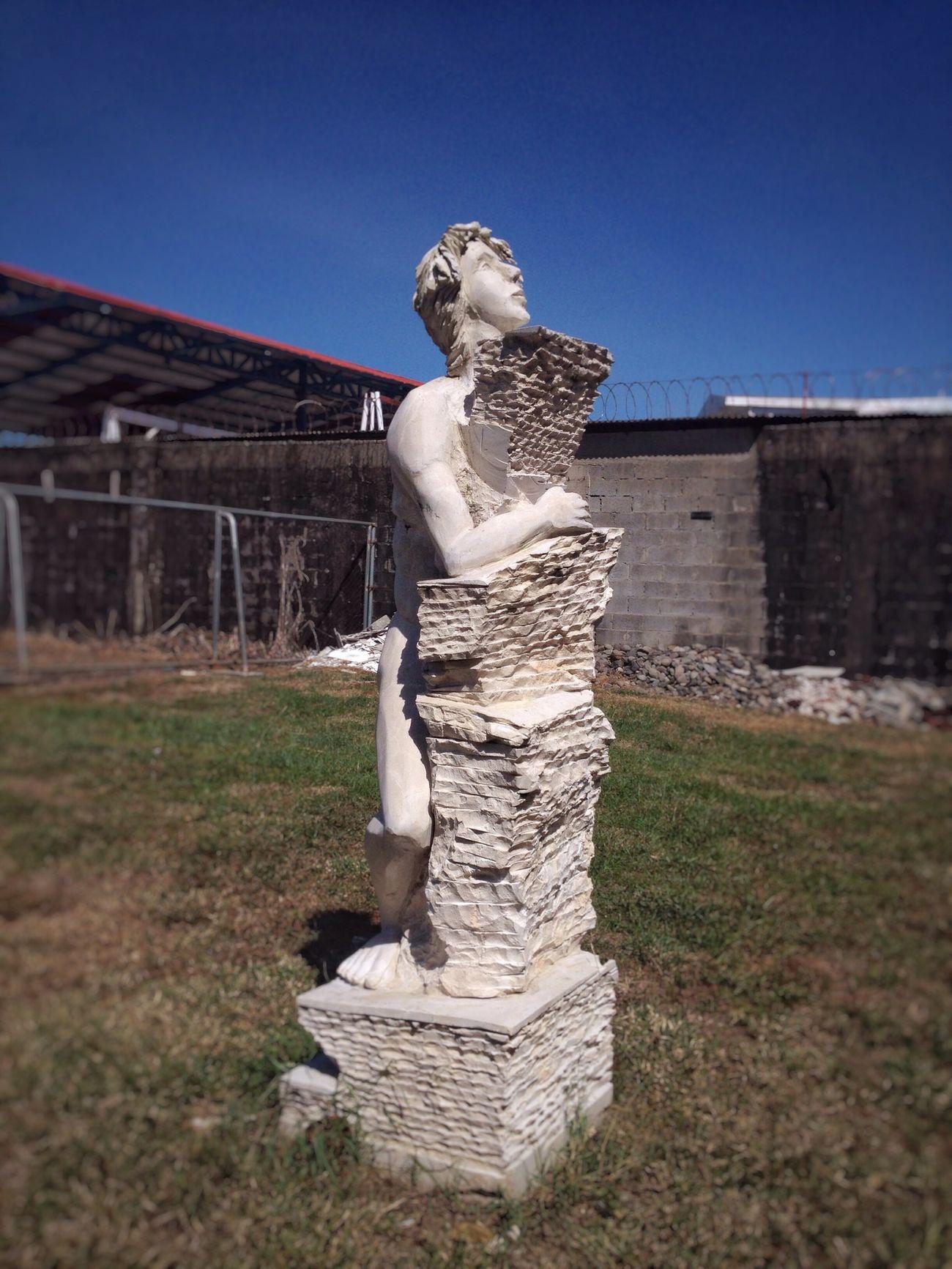 Escultura Verano Plano General Arte Paisaje