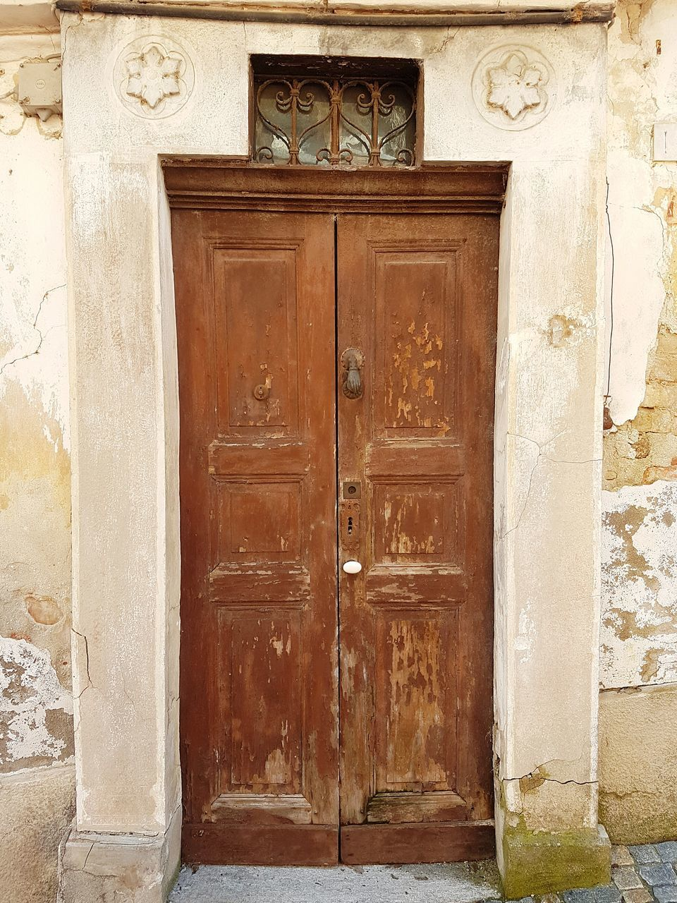 door, closed, entrance, safety, security, protection, closed door, doorway, outdoors, no people, entry, built structure, day, house, wood - material, architecture, history, building exterior, lock, close-up