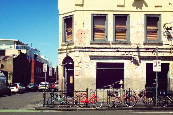 brunswick st melbourne by Lesley Bourne
