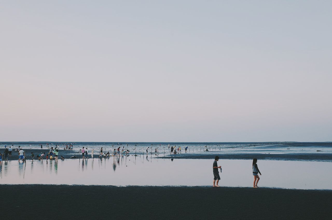 Beautiful stock photos of twilight, Auto Post Production Filter, Beach, Beauty In Nature, Crowded