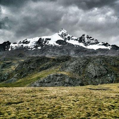 Peru Rajuntay Mountain Sky clouds