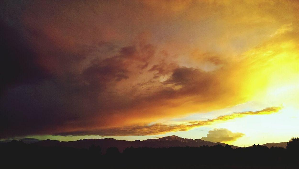 Sunset Landscape Clouds And Sky Cloudporn