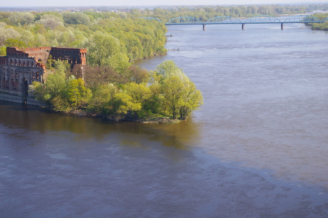 Brigde Fortress Modlin Modling Narew Narew River River Rivers Vistula Warehouse Wisła