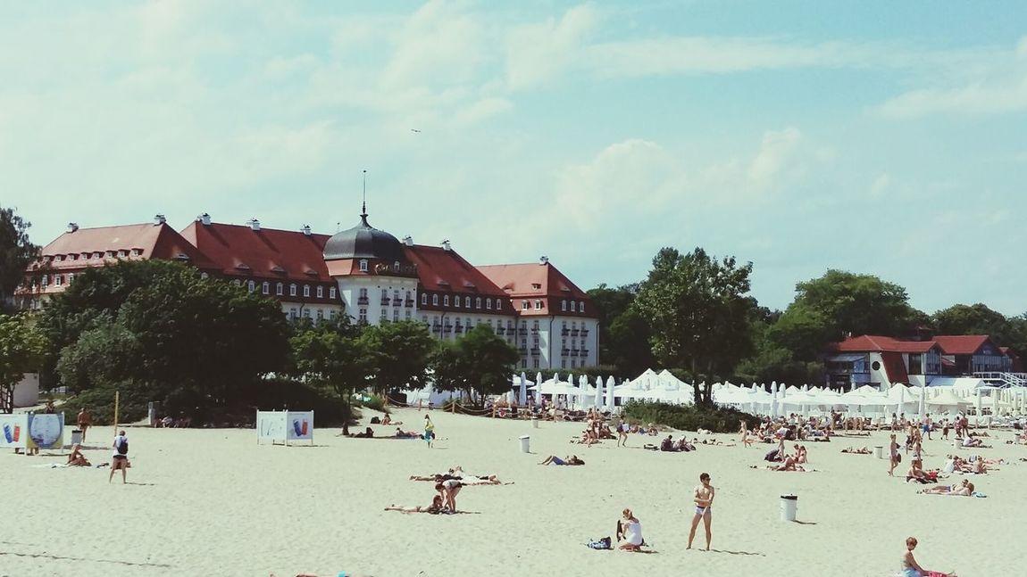 Baltic Sea Morze 🌞🌊 Morze Bałtyckie Trojmiasto Sopot Poland 💗 Euro 2016. Polska Poland Grand Hotel Sofitel Hotel Architecture Architecture_collection