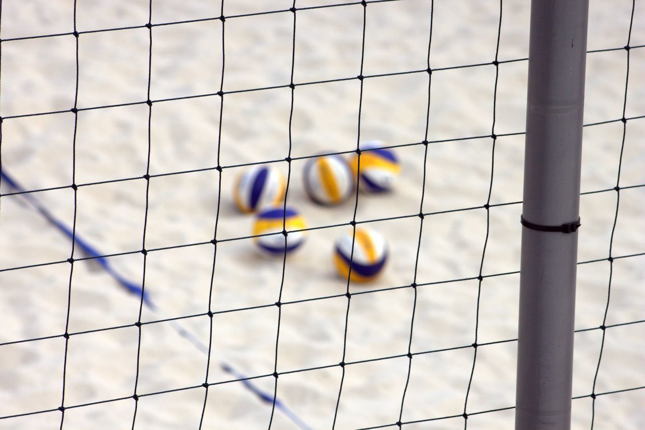 Beautiful stock photos of strand,  Beach Volleyball,  Day,  Focus On Foreground,  High Angle View