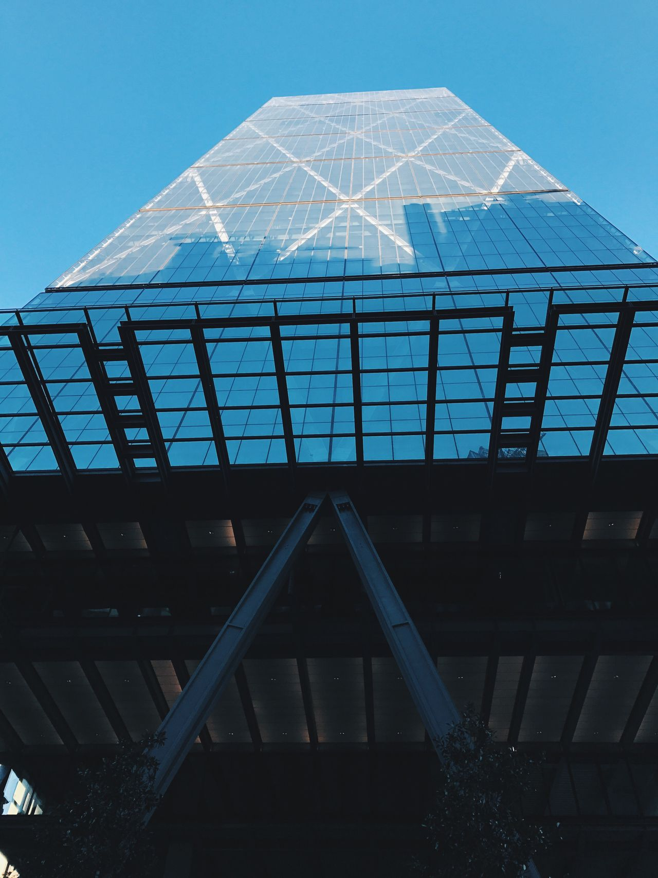 ||Leadenhall P2 || Low Angle View Blue Architecture No People Built Structure Day Outdoors Sky Architecture Hipster Clear Sky Financial District  Building Exterior Skyscraper London City