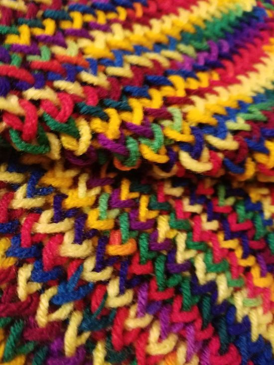 Knitted Baby Blanket Los Angeles, California Multi Colored Close-up Pattern Knitted  No People Backgrounds Full Frame Indoors  Red Blue Yellow Wool Day Colorful Eye 4 Photography Purple ♥ Green Yarn Yarnporn Baby Blanket EyeEm Team