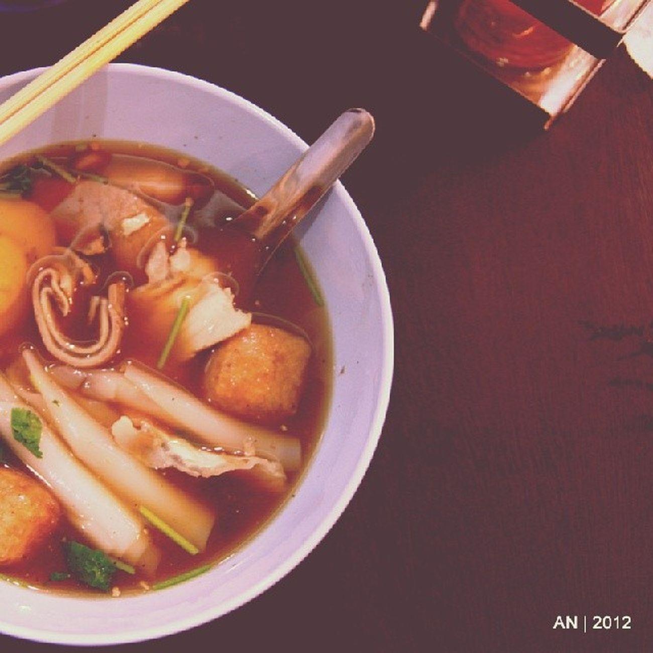 Kwaychap của @congnong đây :p Thaifood Thailand Bangkok thailandtravel yaowarat chinatown hotandspicy