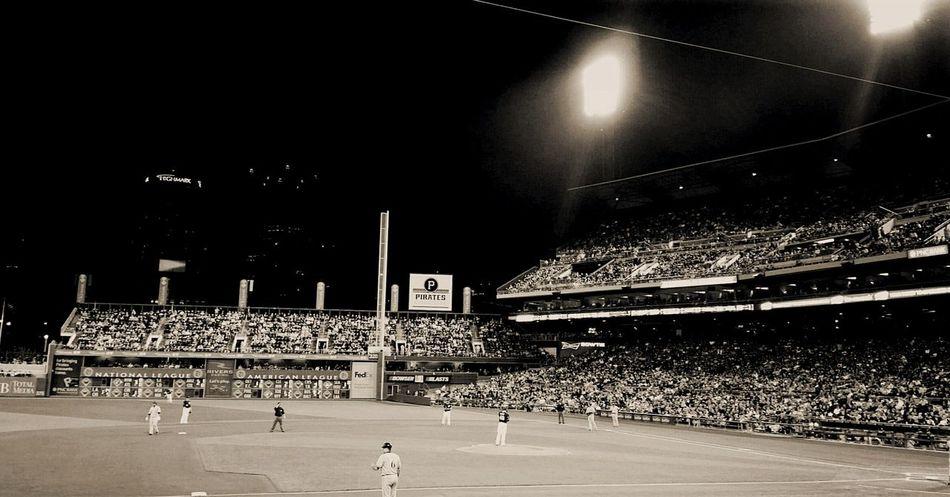 PNC Park Pncpark Pirates Game Buccos Blackandwhite Photography Baseball Game WINNING!!