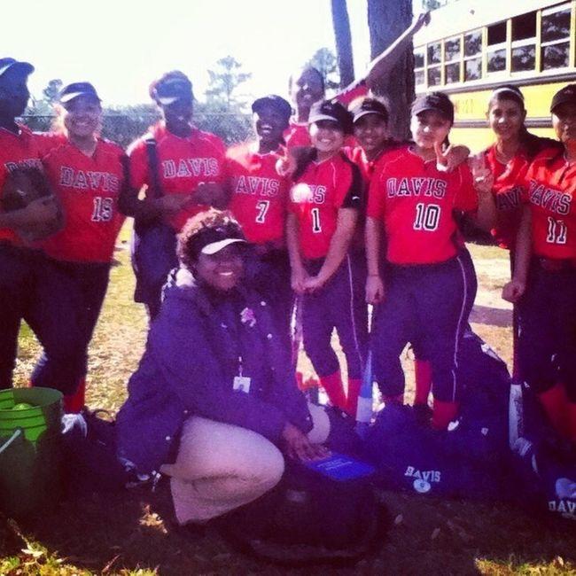 My softball girls, I love them