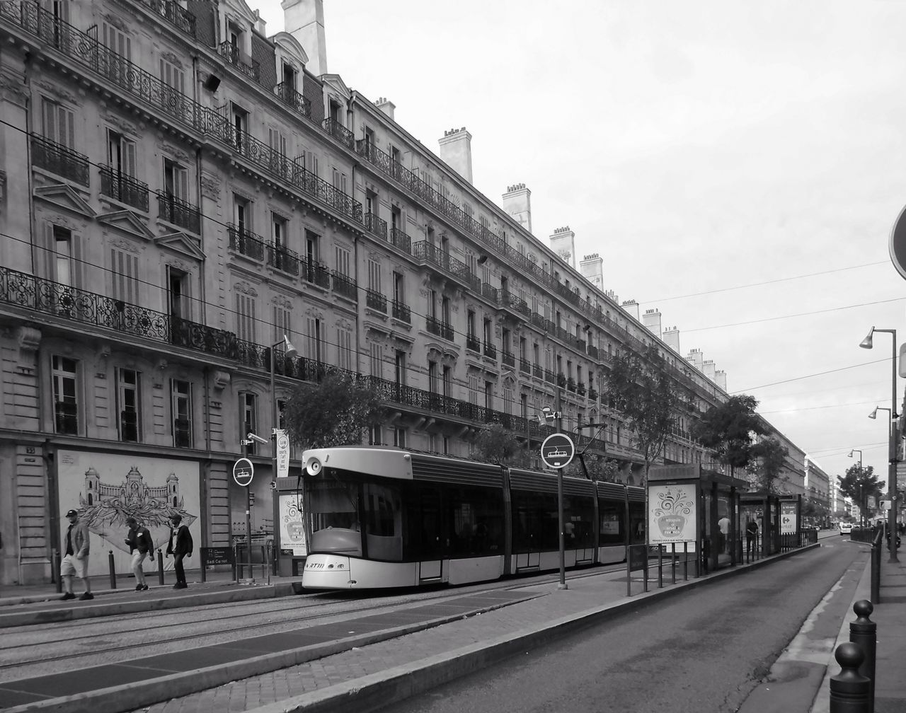 The long road Travel Destinations Architecture Train Ride France 🇫🇷
