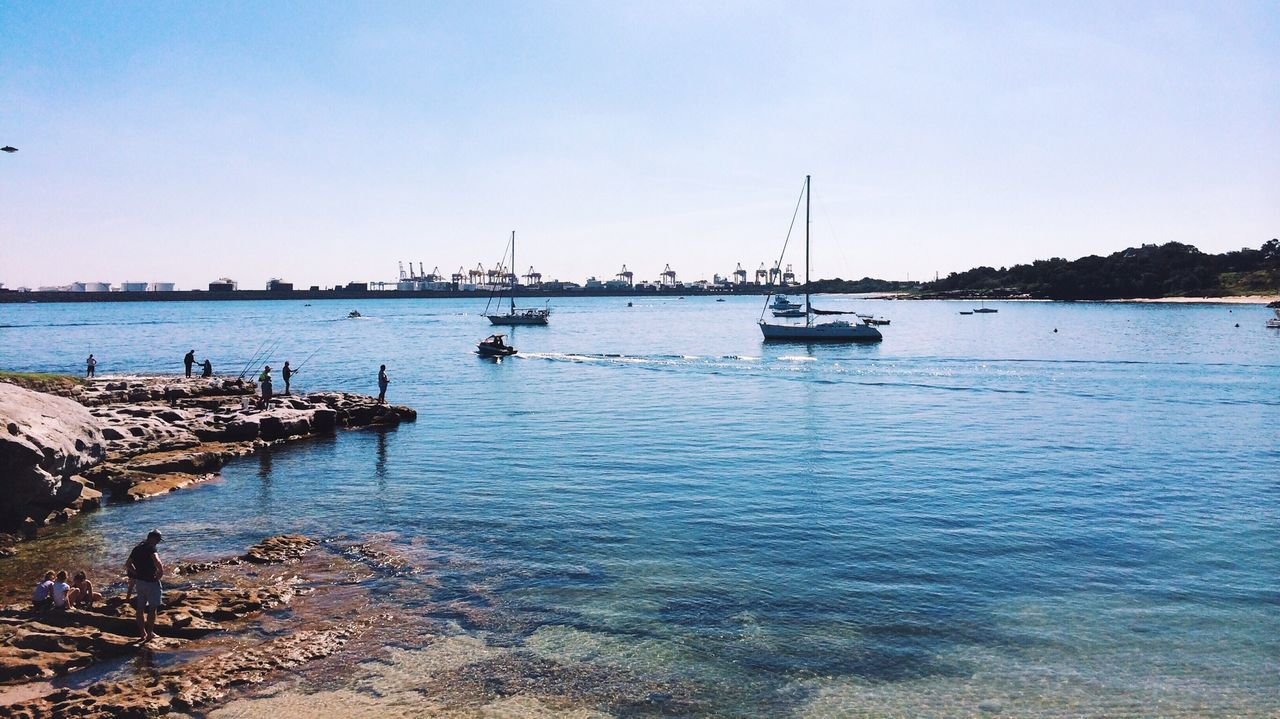 Beautiful stock photos of sydney, Australia, Blue, Boat, Copy Space