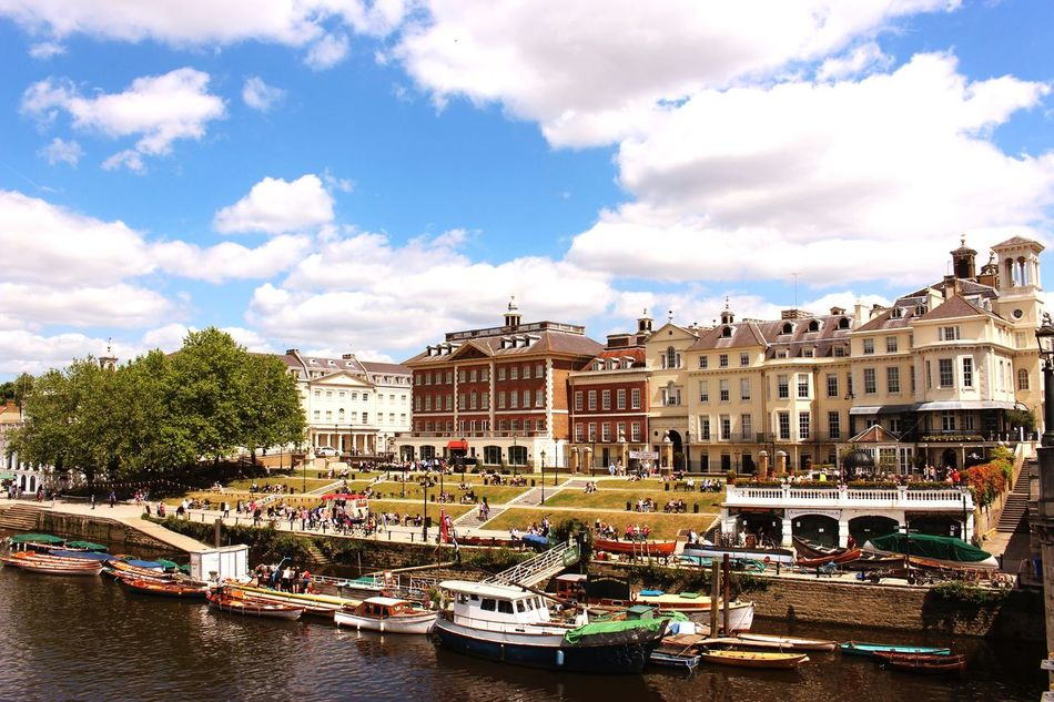 Beautiful stock photos of london, Architecture, Boat, Building, Building Exterior