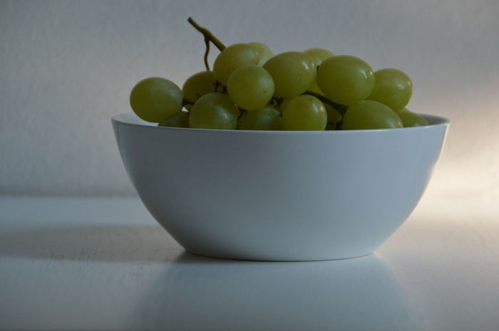 Bowl Close-up Food Food And Drink Freshness Fruit Fruit Bowl Grapes Green Healthy Eating Healthy Lifestyle Indoors  White White Background Fresh On Eyeem