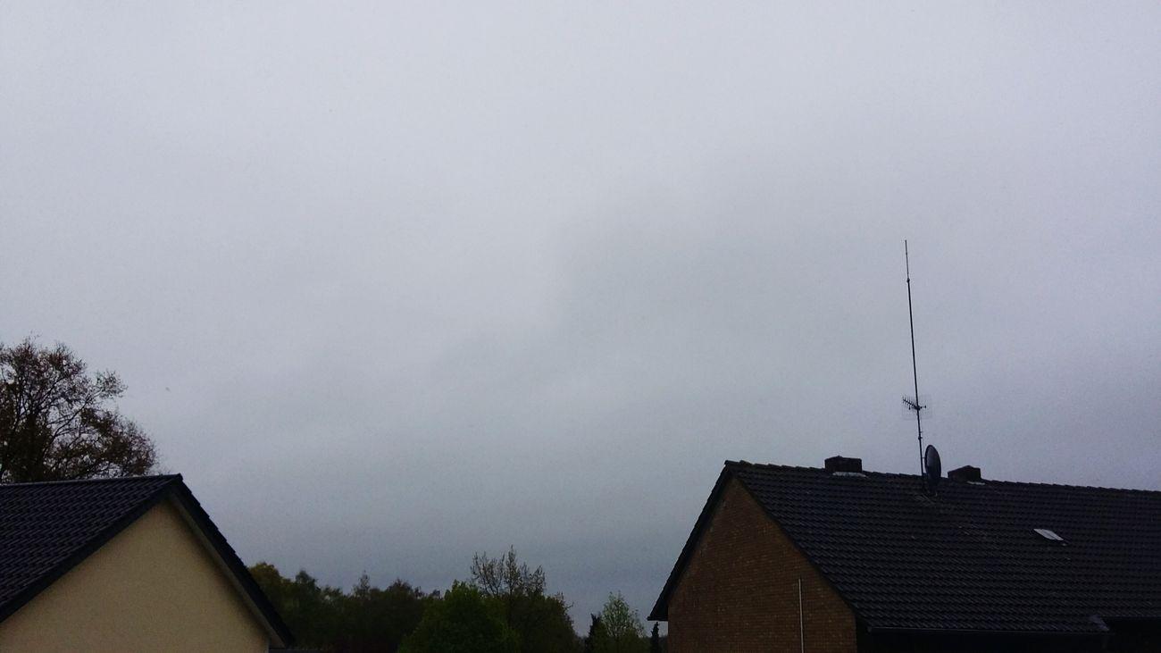 Guten Morgen heute ist ein scheiss Wetter