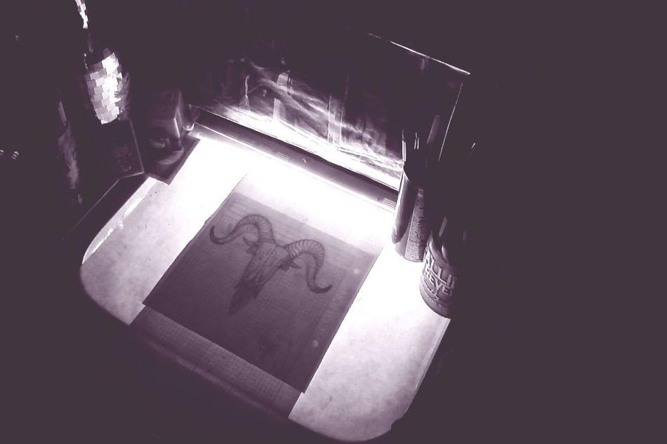 Desing Tattoo MachoCabrio Satanism