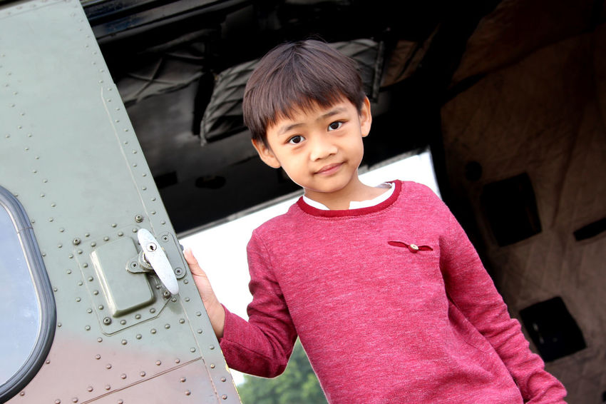 Child Childhood Waist Up Transportation One Person Car People Portrait Looking At Camera Children Only Indoors  Boys One Boy Only Day Adult MySON♥ Ezzra Air Force EyeEm Selects Air Vehicle Military Helicopter Puma
