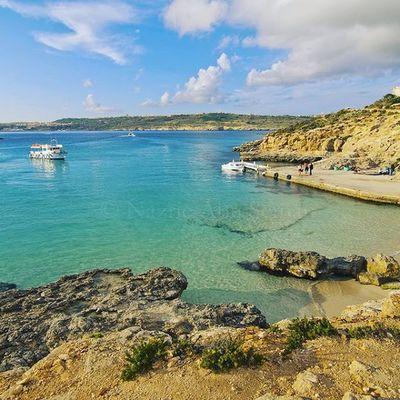 Blue lagoon | Coming island, Malta Malta Bluelagoon Cominoisland Comino