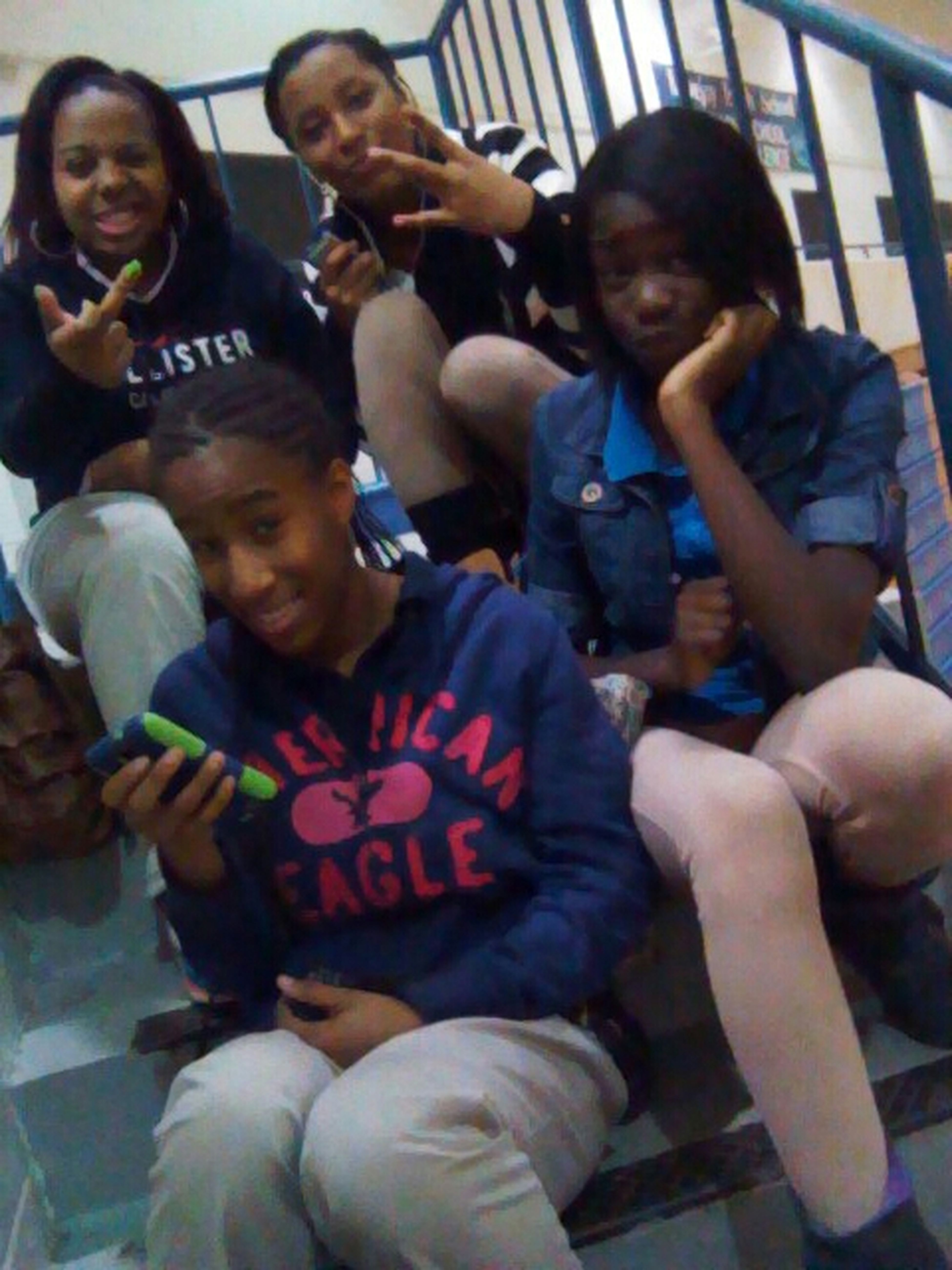 in gym with my bitches @Im_justnique