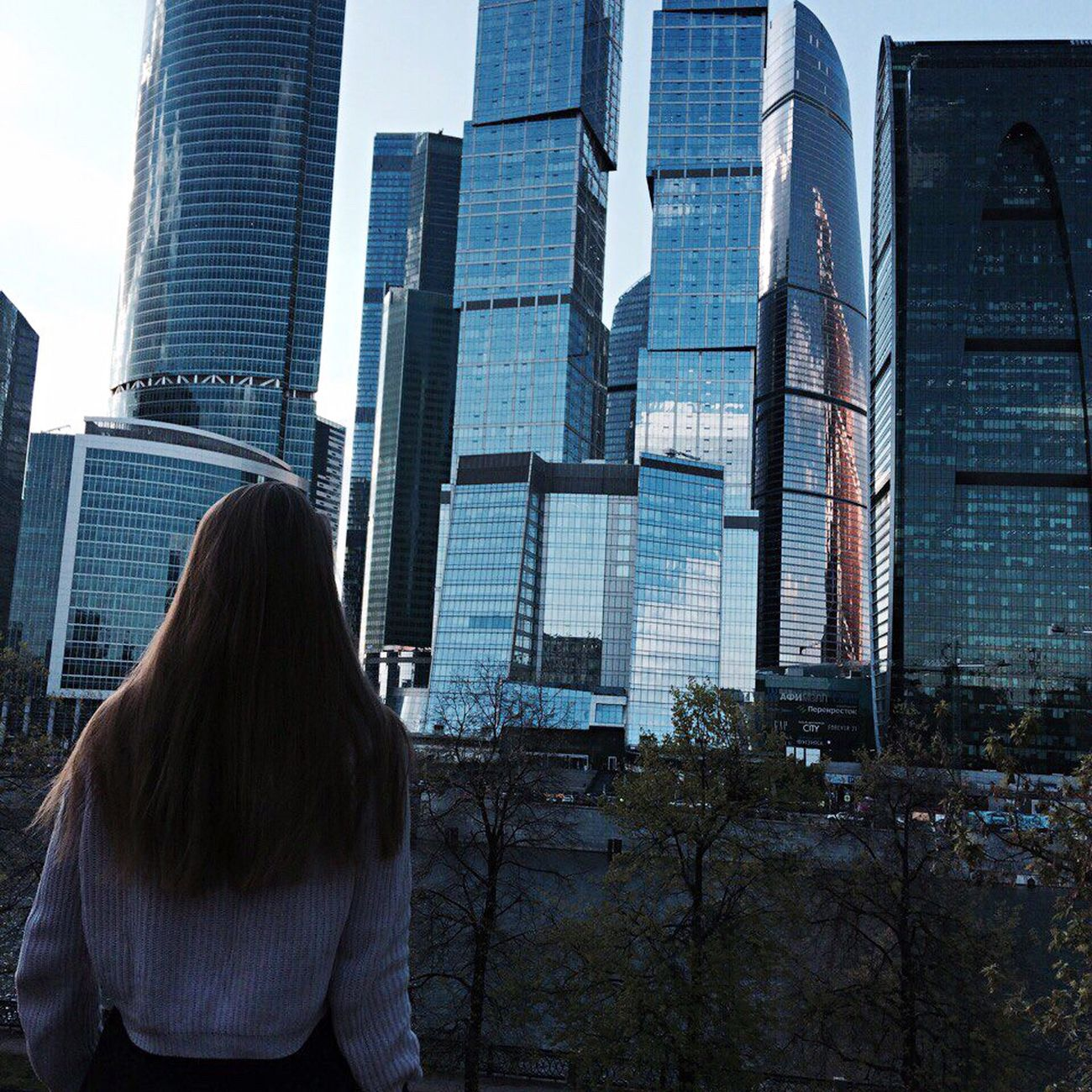Moskow City Moscow Russia Beautiful Nature City Loveis Russian Girl Beautiful Happy Blond Hair Goodday Long Hair 😍😌😊 Popular Photos Popular Pretty Girl Hello World ❤❤❤ Office Park Skyscraper Architecture Rear View Built Structure Building Exterior One Person Financial District  Modern Day Downtown District Women Real People Urban Skyline Outdoors Cityscape Corporate Business One Woman Only Adult