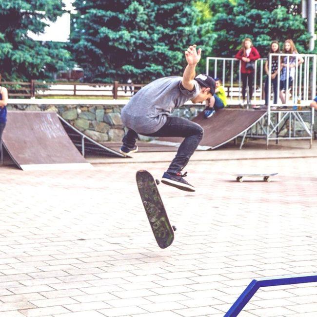 Skateboarding MrBeatMac Nikesb Skater Skatepark Nalchik KBR Skate