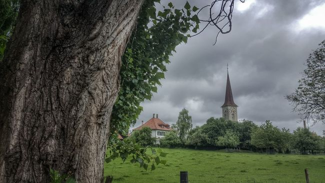Cloud - Sky Beauty In Nature Green Tranquil Scene Wet church