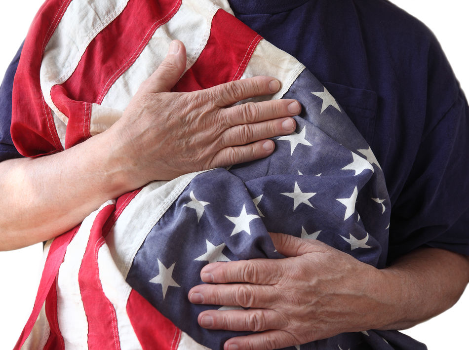 Beautiful stock photos of veteran's day,  American Flag,  Army Solder,  Casual Clothing,  Close-Up