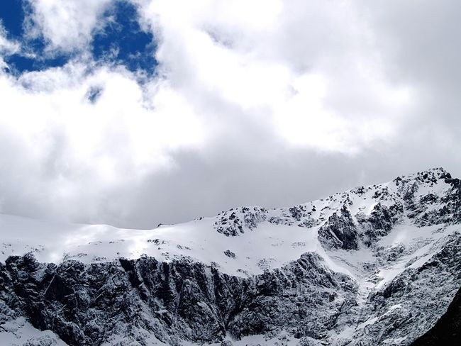 Landscape Milford Sound Mountains Snow ❄ Snow Clouds And Sky EyeEm Nature Lover Nature New Zealand Scenery