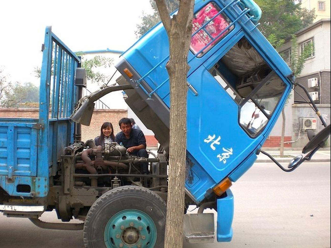 798 798 Art Zone 798艺术区 China Perspective Repair Repairs Truck Truckerslife Whats In...