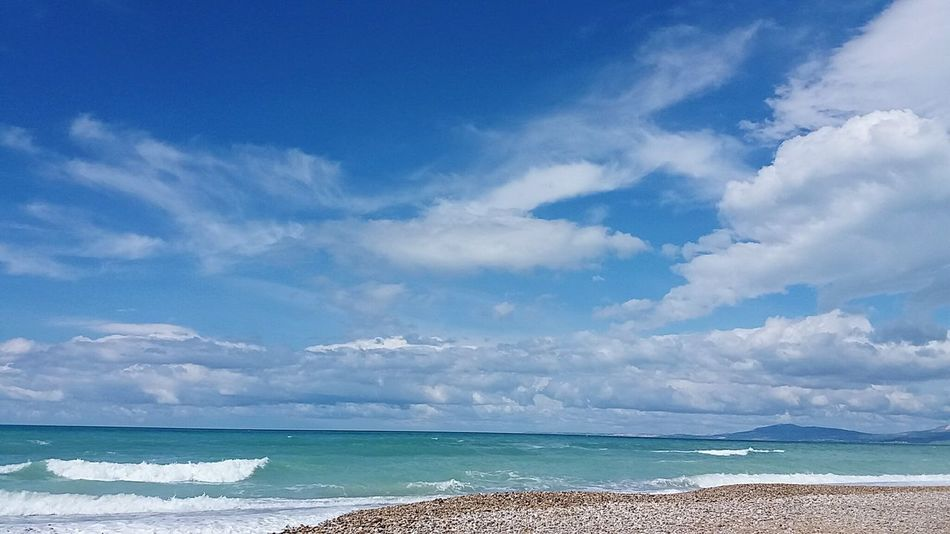 Foce Fiume Platani Seccagrande Sea And Sky Sky And Clouds Mediterranean  Sicily ❤️❤️❤️ Sicily Enjoying Life