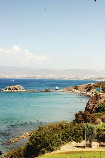 Sea Beach Horizon Over Water Scenics Water Outdoors Day Nature Sky Beauty In Nature No People Afrodite Cyprus EyeEmNewHere