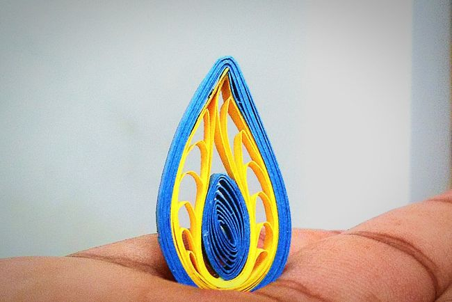 My Mom's Art.. Paperquilling shot with Samsung Galaxy S III