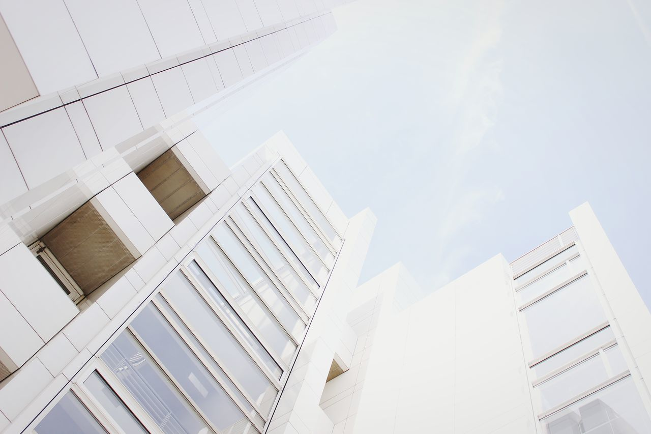 Beautiful stock photos of white, Architecture, Building Exterior, Built Structure, Clear Sky