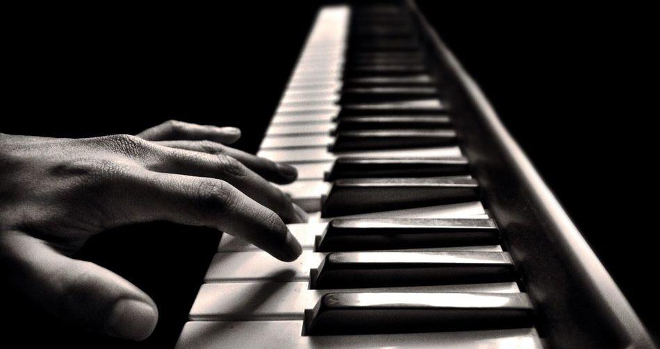First Eyeem Photo Close-up Piano Key Piano Musical Instrument B&w Melancolia Long Goodbye First key