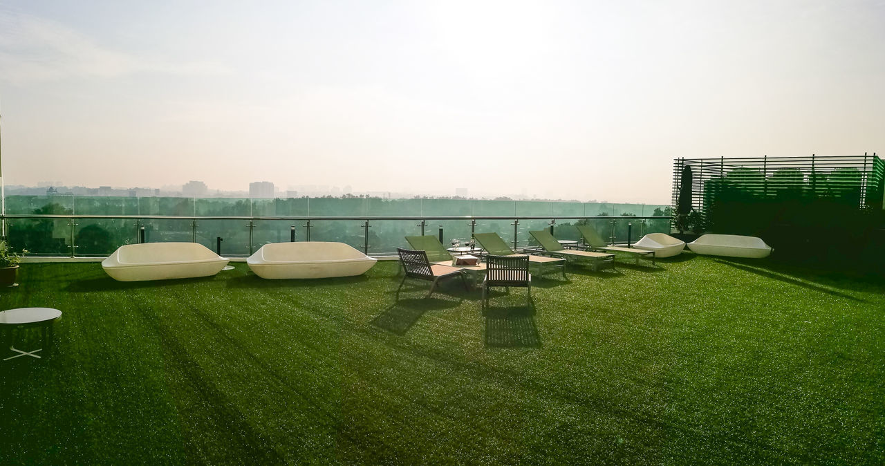 Sky Sport No People Water Golf Soccer Field Outdoors Nature Green - Golf Course Water Slide Golf Course Day Garden Relaxing Open Up The Sky☁☁ Open Up  Hôtel De Ville Outdoor