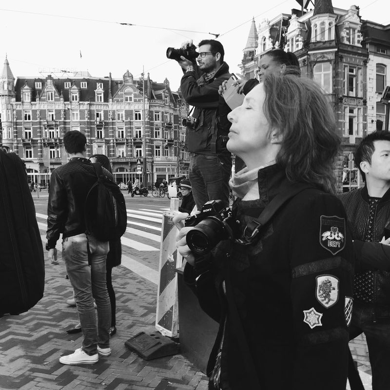 It was in the air... Amsterdam Amsterdamcity Gramthedam Streetphotography Streetsofamsterdam Emotional Photography TheGreatOutdoors City Street