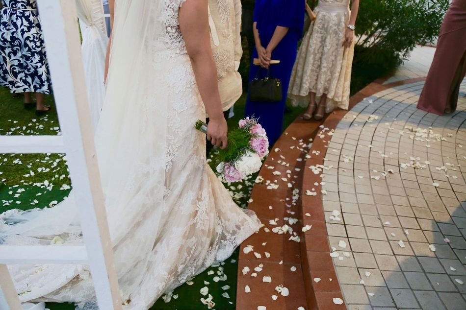 Trying my hand at the whole wedding photography game :D Bonding Bouquet Bride Bridegroom Celebration Ceremony Day Groom Life Events Lifestyles Love Men Outdoors Real People Standing Togetherness Two People Walking Wedding Wedding Ceremony Wedding Dress Well-dressed Women
