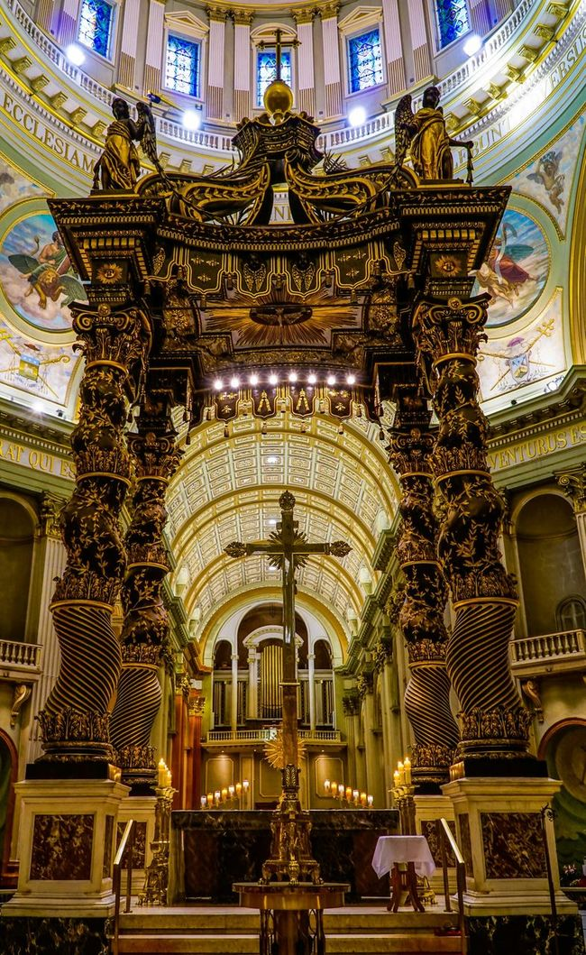 Cathedral Churches Mary, Queen Of The World Cathedral Montréal Canada Catholic Church Sony A6000