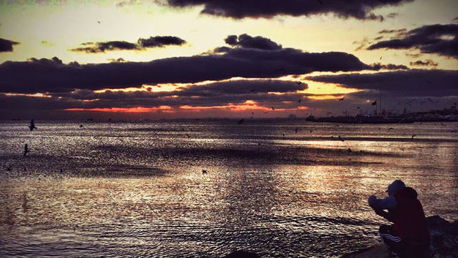 Good night iyi Akşamlar Clouds And Sky Sunset Sunset_collection Streetphotography ıstanbul Relaxing Potrait Photography Landscape Cloud Porn