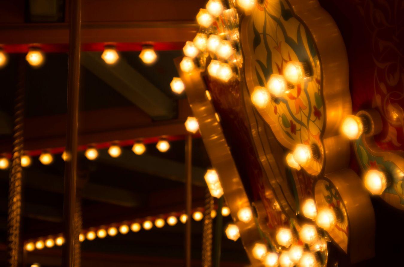Merry Go Round Light And Shadow Tokyo Disney Sea Arabiancoast Light Glitch Carl Zeiss Jena PENTAX K-30