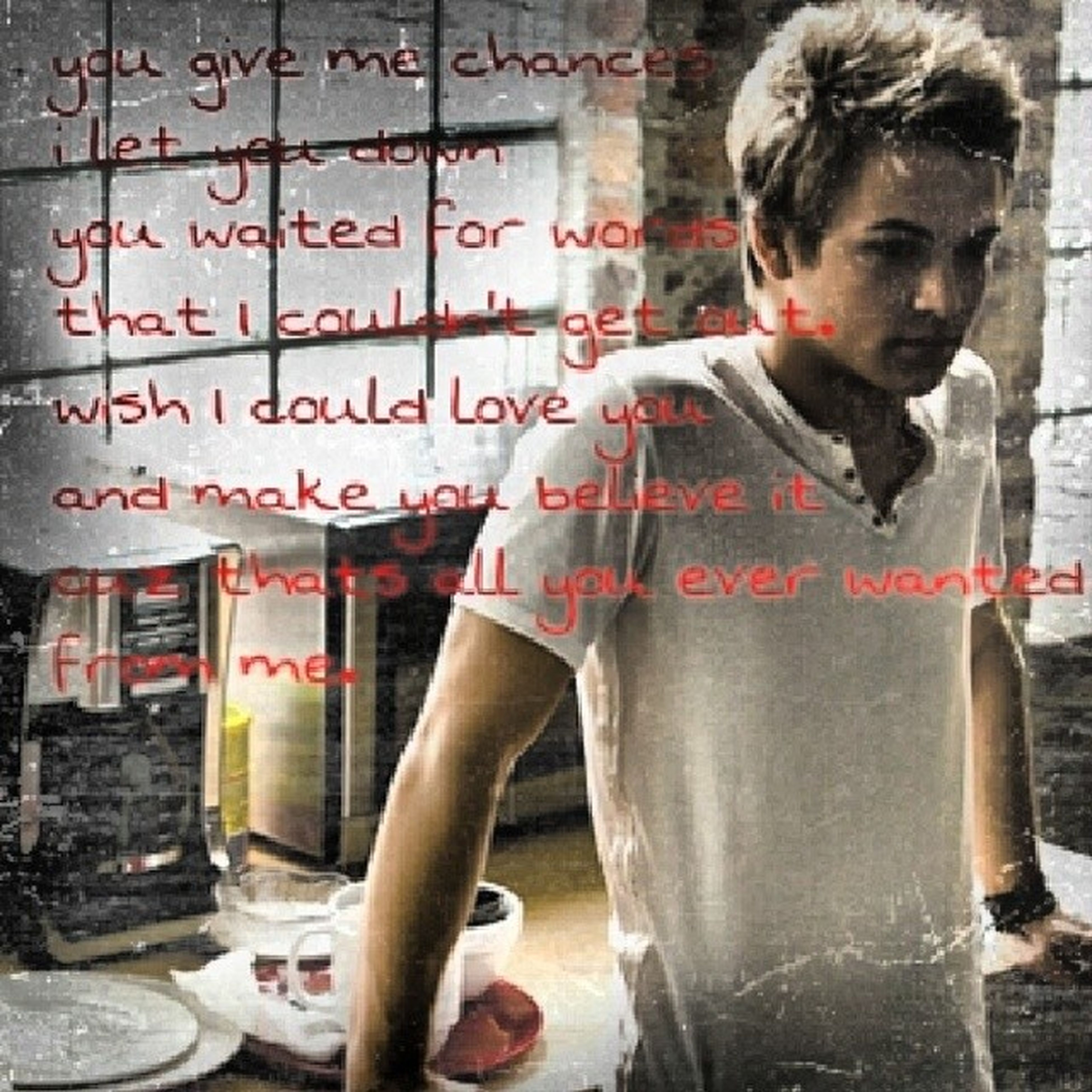 Hunterhayes Allyouever Favsong I paraphrased the song.