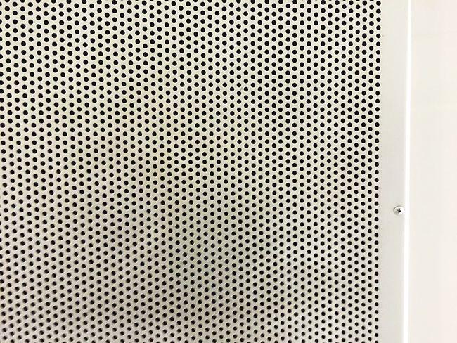 Texture Mesh Wholes Braun Pattern Aluminium Circles Design
