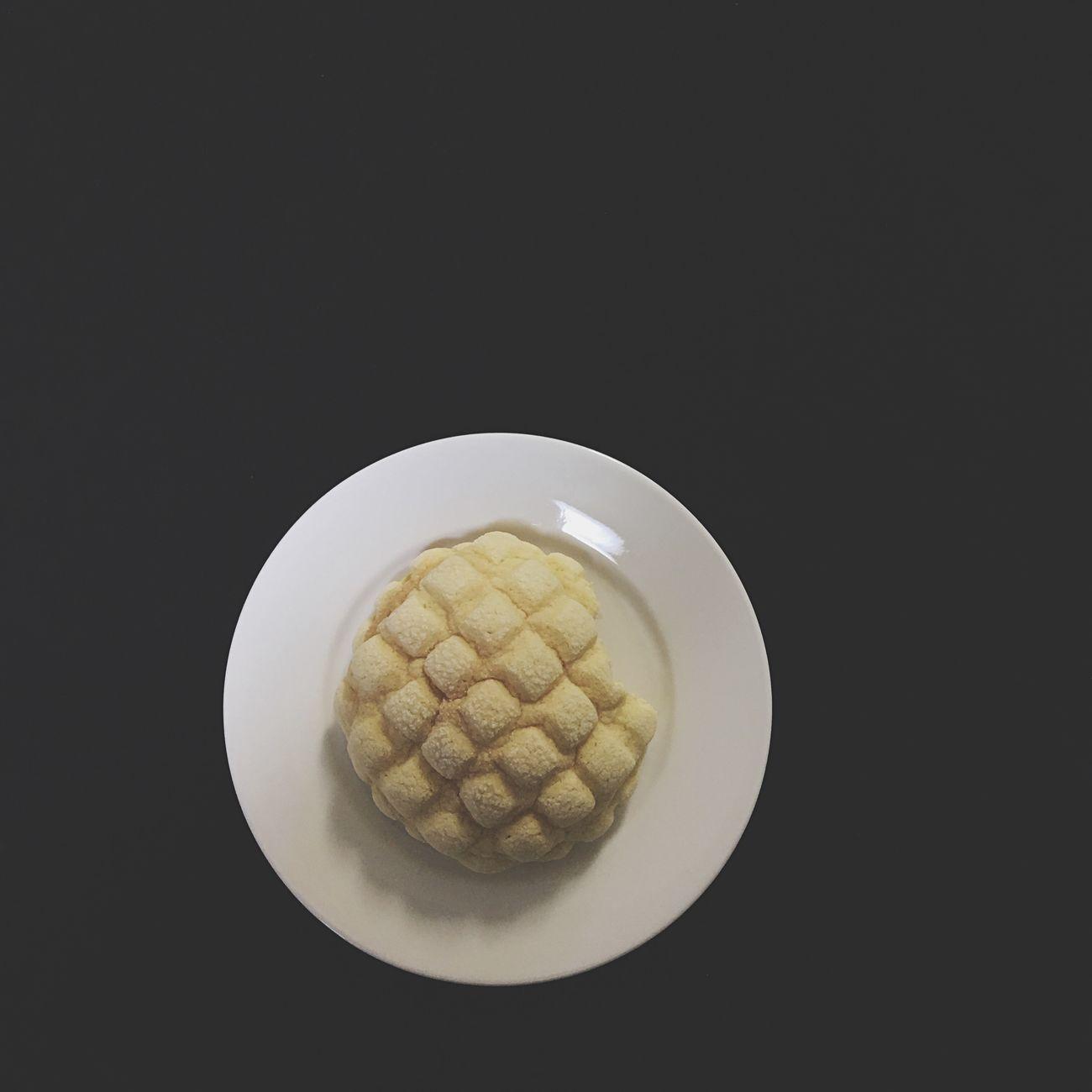 メロンパン 朝ごはん