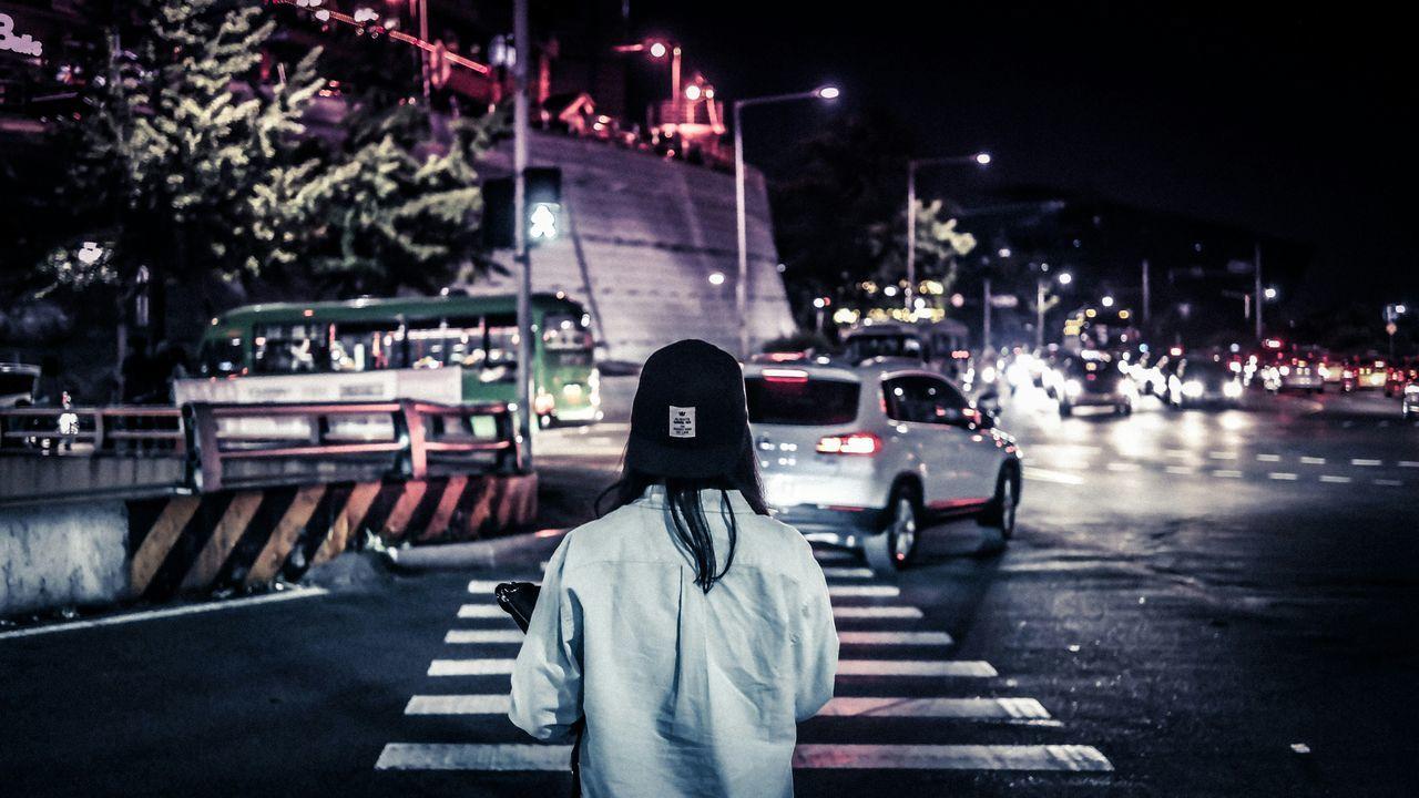 The Street Photographer - 2015 EyeEm Awards Nightphotography Peoplephotography People Watching Streetphotography Street Eye4photography  EyeEm Best Shots Urban Landscape EyeEm Korea