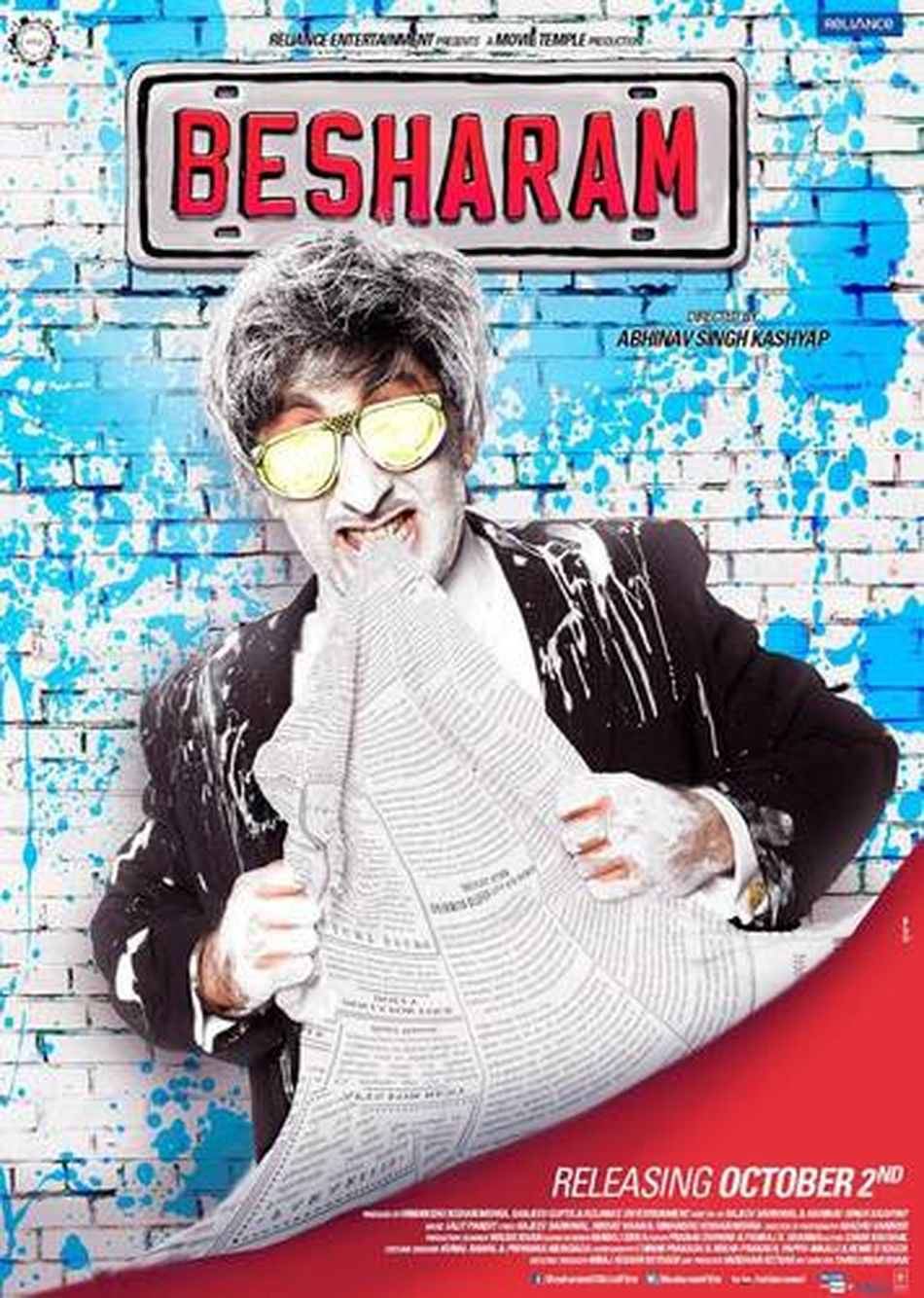 his latest film BESHARAM. Ranbir Kapoor