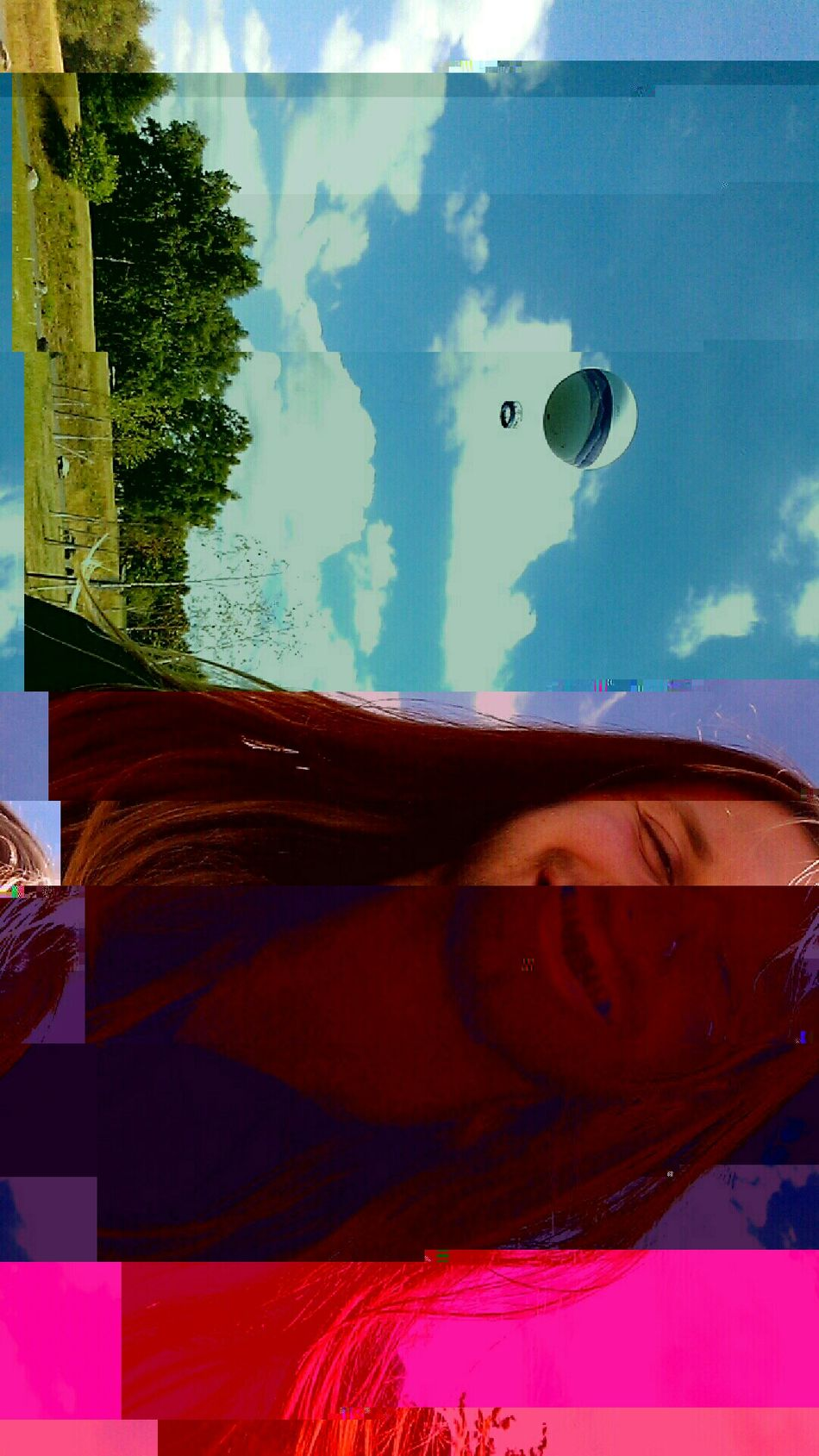 Beauty Redefined Clouds And Sky Enjoying Life DavidLynch Earthporr Check This Out Cheese! Psychedelic Surreal Insanity Beauty wears many faces.