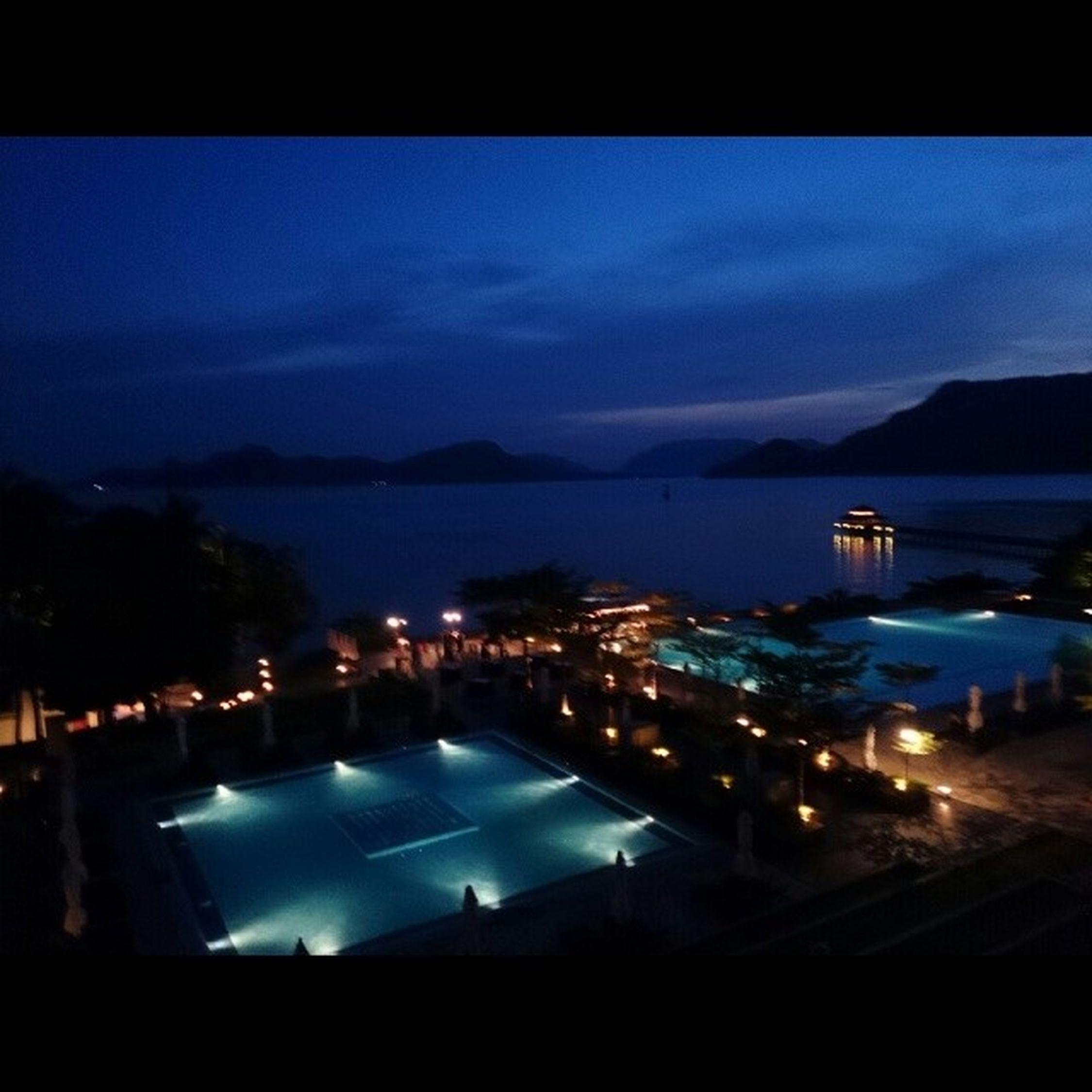 As the sun sets Langkawai ASIA