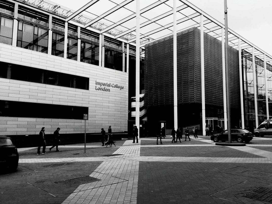 Elegantly intelligent Business School Architecture B&w Simple Urban Geometry Urbanexploration Escape